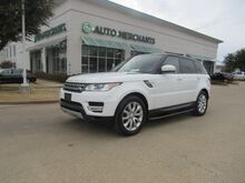 2015_Land Rover_Range Rover Sport_HSE*HEATED/COOLED FRONT&REAR SEATS,PREMIUM SOUND,BACKUP CAM,BLINDSPOT MONITOR,NAVIGATION,PARKING AID_ Plano TX