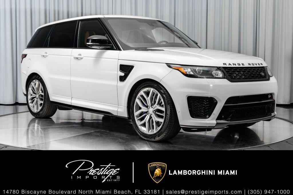2015 Land Rover Range Rover Sport SVR North Miami Beach FL