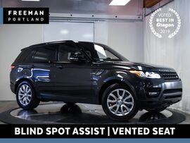 2015 Land Rover Range Rover Sport Supercharged 4WD Blind Spot Assist Vented Seats