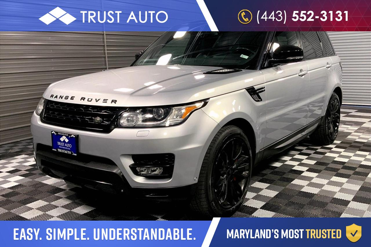 2015 Land Rover Range Rover Sport Supercharged 4WD Luxury SUV Sykesville MD