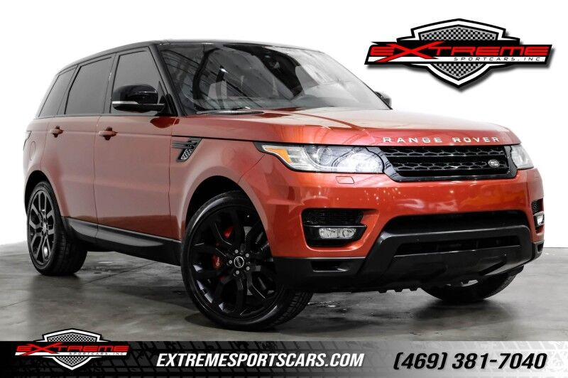 2015 Land Rover Range Rover Sport Supercharged DYNAMIC Addison TX