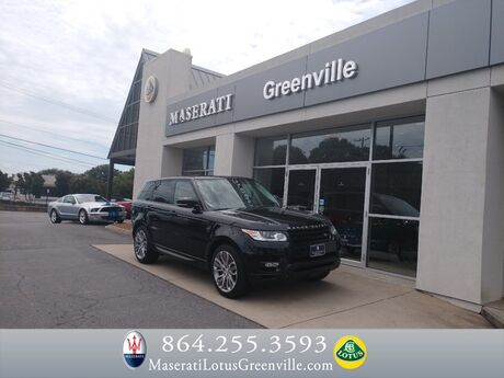 2015 Land Rover Range Rover Sport Supercharged Greenville SC
