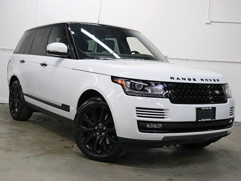 2015 Land Rover Range Rover Supercharged ** 1 Owner! Black Diamond Package!** Schaumburg IL