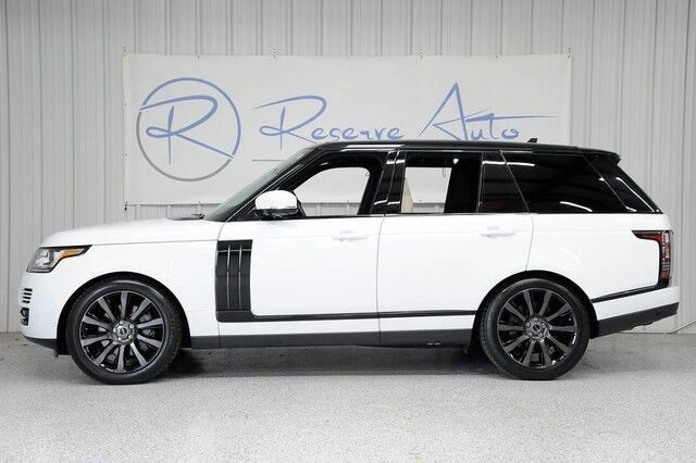 2015 Land Rover Range Rover Supercharged 21 Wheel Pkg Rear Dvd The