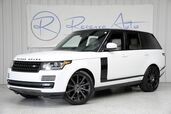2015 Land Rover Range Rover Supercharged 21 Wheel Pkg Rear DVD