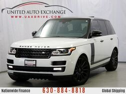 2015_Land Rover_Range Rover_Supercharged 4WD, Panoramic Sunroof, Navigation, Backup Camera & Sensors_ Addison IL