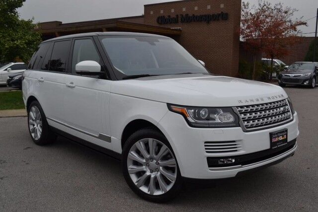 2015 Land Rover Range Rover Supercharged/Big Body/4X4/Power Boards/Meridian Sound/Blind Spot/Pano Roof/510 HP Nashville TN