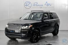 2015 Land Rover Range Rover Supercharged Ebony BlackOut Pkg