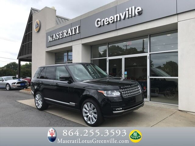 2015 Land Rover Range Rover Supercharged Greenville SC