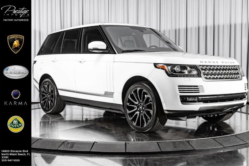 2015_Land Rover_Range Rover_Supercharged_ North Miami FL