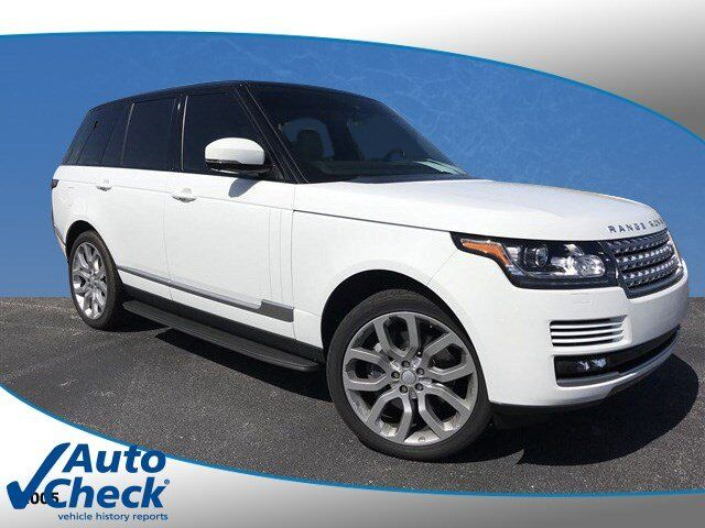 Vehicle details 2015 Land Rover Range Rover at Central Florida