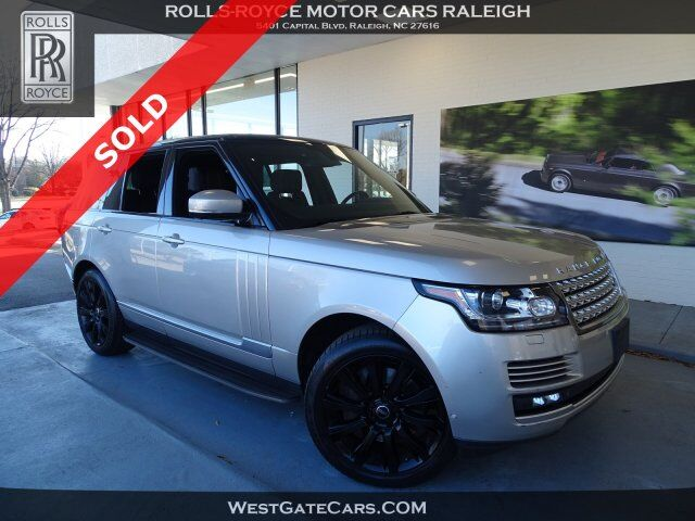 2015 Land Rover Range Rover Supercharged Raleigh NC