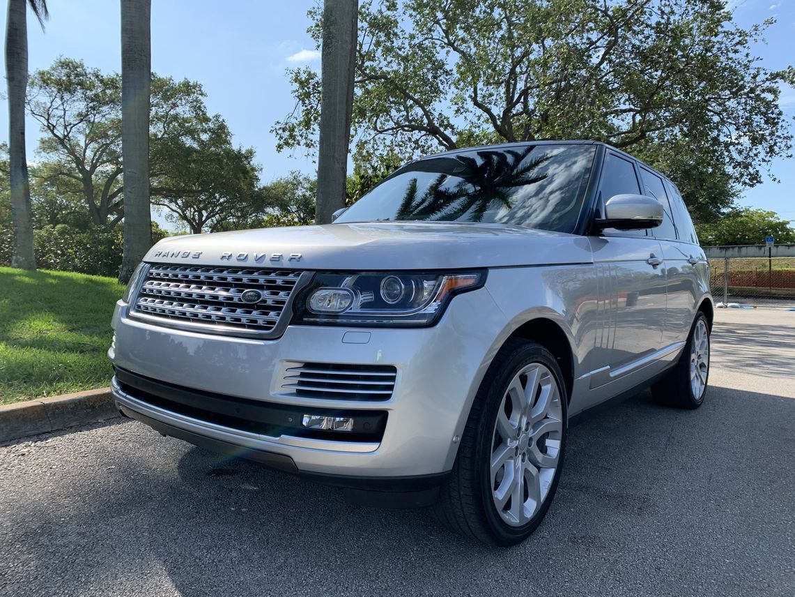 2015 Land Rover Range Rover Supercharged Sport Utility 4D Hollywood FL