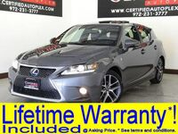 Lexus CT 200h F SPORT W/ NULUXE INTERIOR SUNROOF LEATHER SEATS REAR CAMERA BLUETOOTH 2015
