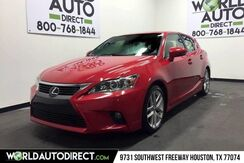 2015_Lexus_CT 200h_Hybrid 58k Front Wheel Drive 1.8L 4-Cyl DOHC 16v VVT-i Engine_ Houston TX