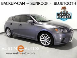 2015_Lexus_CT 200h Hybrid_*BACKUP-CAMERA, MOONROOF, CRUISE CONTROL, ALLOY WHEELS, BLUETOOTH PHONE & AUDIO STREAMING_ Round Rock TX