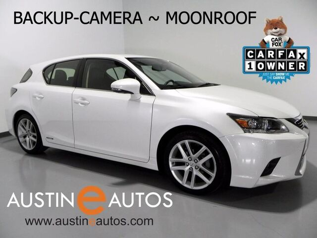 2015 Lexus CT 200h Hybrid *BACKUP-CAMERA, MOONROOF, CRUISE CONTROL, BLUETOOTH PHONE AND STREAMING AUDIO Round Rock TX