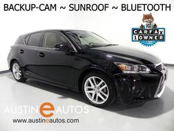 2015_Lexus_CT 200h Hybrid_*BACKUP-CAMERA, MOONROOF, HEATED SEATS, STEERING WHEEL CONTROLS, BLUETOOTH PHONE & AUDIO_ Round Rock TX