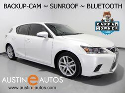 2015_Lexus_CT 200h Hybrid_*BACKUP-CAMERA, MOONROOF, STEERING WHEEL CONTROLS, PUSH BUTTON START, BLUETOOTH PHONE & AUDIO_ Round Rock TX