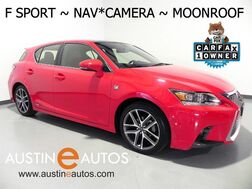 2015_Lexus_CT 200h Hybrid_*F SPORT, NAVIGATION, BACKUP-CAMERA, MOONROOF, HEATED SEATS, BLUETOOTH PHONE & AUDIO_ Round Rock TX