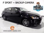 2015 Lexus CT 200h Hybrid *F-SPORT PKG, BACKUP-CAMERA, MOONROOF, CRUISE CONTROL, BLUETOOTH PHONE/AUDIO