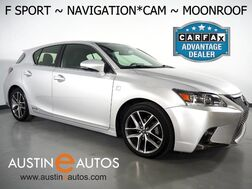 2015_Lexus_CT 200h Hybrid_*F SPORT PKG, NAVIGATION, BACKUP-CAMERA, MOONROOF, HEATED SEATS, ALLOY WHEELS, STEERING WHEEL CONTROLS, BLUETOOTH PHONE & AUDIO_ Round Rock TX