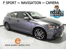 Lexus CT 200h Hybrid *F SPORT PKG, NAVIGATION, BACKUP-CAMERA, MOONROOF, HEATED SEATS, BLUETOOTH AUDIO 2015