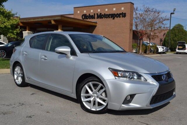 2015 Lexus CT 200h Hybrid/Nav/Rear Cam/Heated Leather Seats/Bluetooth Audio/43 MPG! Nashville TN