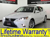 Lexus CT 200h NAVIGATION PKG PREMIUM PKG FOR NAVIGATION SEAT COMFORT PKG SUNROOF LEATHER 2015