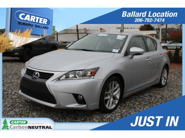 2015 Lexus CT200h Hybrid Seattle WA