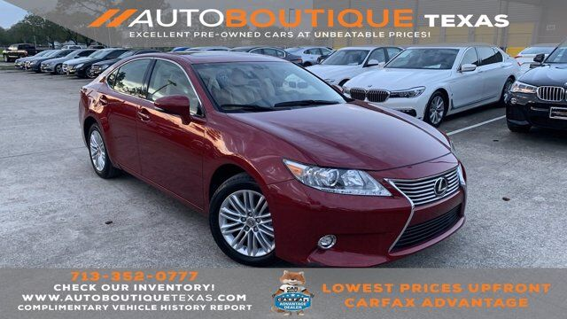 2015 Lexus ES 350 Houston TX
