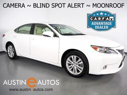 2015_Lexus_ES 350_*BLIND SPOT ALERT, BACKUP-CAMERA, MOONROOF, CLIMATE SEATS, INTUITIVE PARK ASSIST, ALLOY WHEELS, BLUETOOTH PHONE & AUDIO_ Round Rock TX