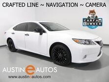 Lexus ES 350 Crafted Line *NAVIGATION, BACKUP-CAMERA, BLIND SPOT ALERT, CLIMATE SEATS, MOONROOF, BLUETOOTH PHONE & AUDIO 2015