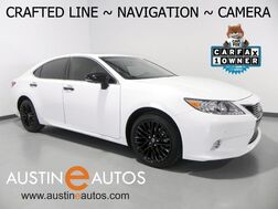 2015_Lexus_ES 350 Crafted Line_*NAVIGATION, BACKUP-CAMERA, BLIND SPOT ALERT, CLIMATE SEATS, MOONROOF, BLUETOOTH PHONE & AUDIO_ Round Rock TX