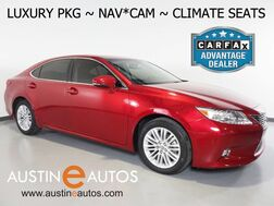 2015_Lexus_ES 350_*LUXURY PKG, NAVIGATION, BLIND SPOT ALERT, BACKUP-CAMERA, MOONROOF, LEATHER, CLIMATE SEATS, BLUETOOTH PHONE & AUDIO_ Round Rock TX