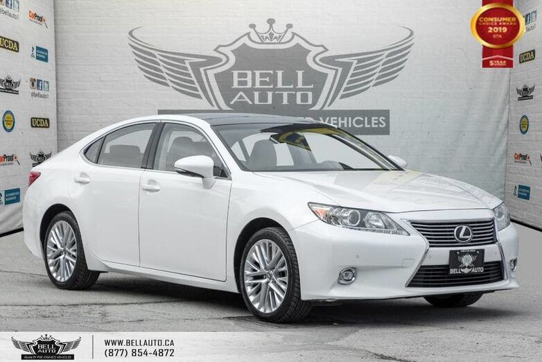 2015 Lexus ES 350 NAVI, BACK-UP CAM, PANO ROOF, BLINDSPOT, COOLED SEATS Toronto ON