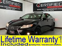Lexus ES 350 NAVIGATION SUNROOF REAR CAMERA BLIND SPOT ASSIST PARK ASSIST HEATED COOLED 2015