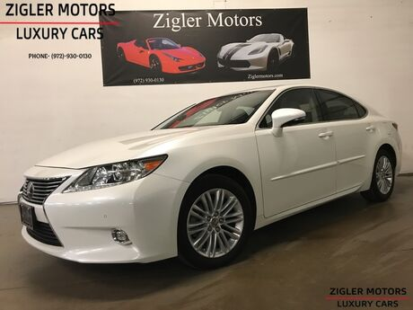 2015 Lexus ES 350 Navigation Backup Camera Active Cruise Control low miles Clean Carfax Addison TX