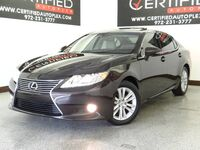 Lexus ES 350 SUNROOF BLIND SPOT ASSIST REAR CAMERA PARK ASSIST HEATED COOLED LEATHER SEA 2015