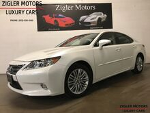 2015_Lexus_ES 350_Starfire Pearl Navigation Backup Camera Active Cruise Control_ Addison TX