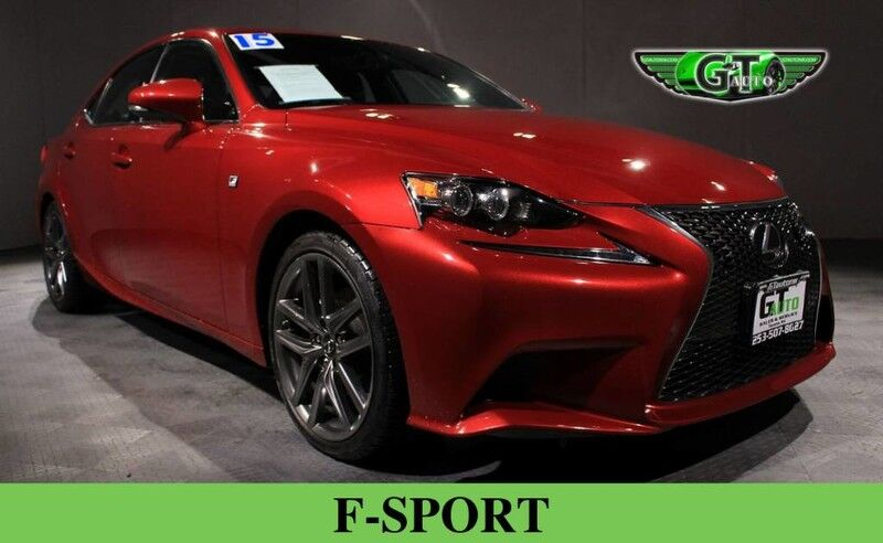 2015 Lexus F-Sport IS 250 Sedan 4D