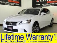 Lexus GS 350 F SPORT AWD BLIND SPOT MONITOR NAVIGATION SUNROOF LEATHER HEATED/COOLED 2015