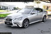 2015 Lexus GS 350 F SPORT BLIND SPOT/LEVINSON/RED Interior ONE OWNER CA CAR CPO to 100K Miles