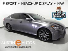 Lexus GS 350 *F SPORT, HEADS-UP DSPLY, NAVIGATION, MARK LEVINSON, LDH SYSTEM, BLIND SPOT ALERT, CLIMATE SEATS, BACKUP-CAM, MOONROOF, BLUETOOTH 2015