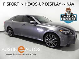 2015_Lexus_GS 350_*F SPORT, HEADS-UP DSPLY, NAVIGATION, MARK LEVINSON, LDH SYSTEM, BLIND SPOT ALERT, CLIMATE SEATS, BACKUP-CAM, MOONROOF, BLUETOOTH_ Round Rock TX