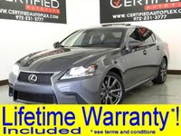 Lexus GS 350 F SPORT PKG BLIND SPOT MONITOR NAVIGATION SUNROOF LEATHER HEATED/COOLED 2015
