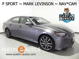 2015_Lexus_GS 350_F SPORT PKG, NAVIGATION, BLIND SPOT ALERT, MARK LEVINSON AUDIO, LEATHER, CLIMATE SEATS, MOOONROOF, BLUETOOTH PHONE & AUDIO_ Round Rock TX