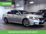2015 Lexus GS 350 Nav Back-Up Cam Blind Spot Assist Vented Seats