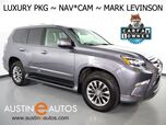 2015 Lexus GX 460 4WD Luxury *NAVIGATION, BLIND SPOT ALERT, MARK LEVINSON AUDIO, BACKUP-CAMERA, SEMI-ANILINE LEATHER, POWER 3RD ROW, MOONROOF, CLIMATE SEATS, BLUETOOTH