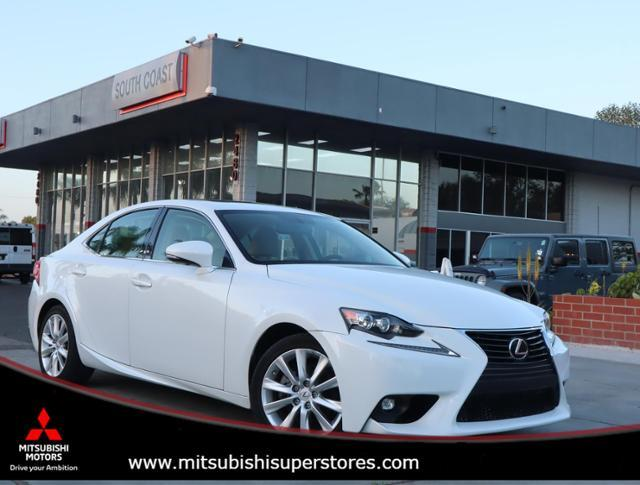 2015 Lexus IS 250  Costa Mesa CA